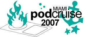 logo for PodCruise 2007